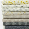 Elizabeth Silver for Camelot Fabrics, Petal Pusher, Grey in HALF YARDS 8 Total