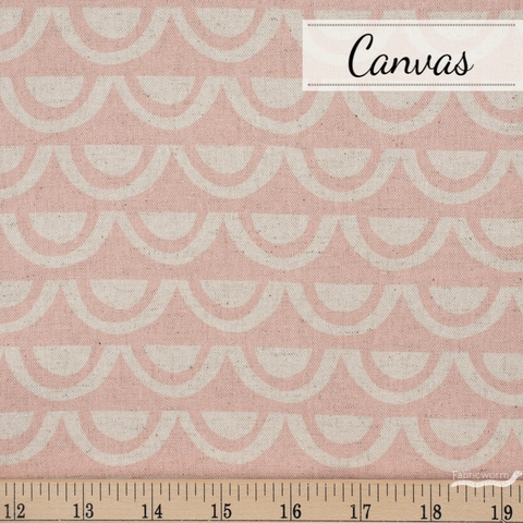 Ellen Baker, Paper Canvas, Bridges Pink Fat Quarter