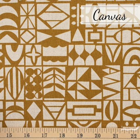 Ellen Baker, Paper Canvas, Papercut Brown Fat Quarter
