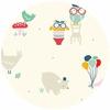 Emily Isabella for Birch Organic Fabrics, Everyday Party, Everyday Animals
