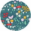 Emily Isabella for Birch Organic Fabrics, Everyday Party, Meadow Floral
