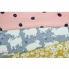 Emily Isabella for Birch Organic Fabrics, Homestead, KNIT, Little Lamb Fog