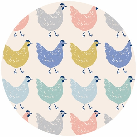 Emily Isabella for Birch Organic Fabrics, Homestead, Roost
