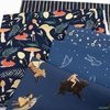 Emily Winfield Martin for Riley Blake, Dream World, Toadstools Navy