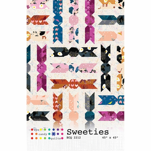 Eye Candy Quilts, Sewing Pattern, Sweeties Quilt