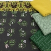 Fabricworm Custom Bundle, Beetle Dance in HALF YARDS 5 Total