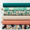 Fabricworm Custom Bundle, Best Life in FAT QUARTERS 6 Total