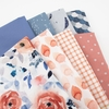 Fabricworm Custom Bundle, Blushing Bouquet in HALF YARDS 8 Total