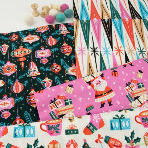 Fabricworm Custom Bundle, Bright Cheer in HALF YARDS 7 Total