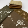 Fabricworm Custom Bundle, Chroma Brown in HALF YARDS 6 Total