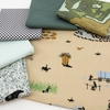Fabricworm Custom Bundle, Cowboy Campout in FAT QUARTERS 6 Total