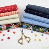 Fabricworm Custom Bundle, Everything Beautiful in FAT QUARTERS 10 Total (PRECUT)