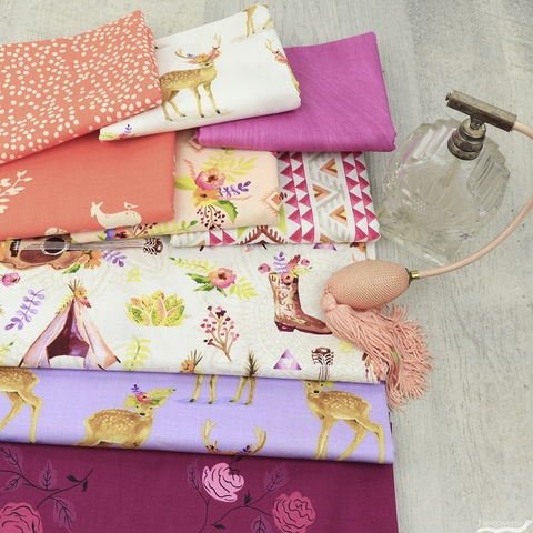 Fabricworm Custom Bundle, Fawn Moment in HALF YARDS 9 Total