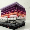 Fabricworm Custom Bundle,  Field of Dreams in  FAT QUARTERS 10 Total (PRECUT)