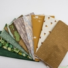Fabricworm Custom Bundle, Field Study in FAT QUARTERS 9 Total PRECUT