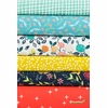 Fabricworm Custom Bundle, Flora in FAT QUARTERS 5 Total