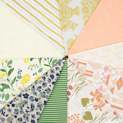 Fabricworm Custom Bundle, Florist in FAT QUARTERS 10 Total (PRECUT)