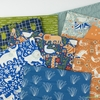 Fabricworm Custom Bundle, Garden Gathering in FAT QUARTERS 9 Total