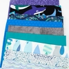 Fabricworm Custom Bundle, Little Shark in HALF YARDS 9 Total