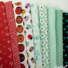 Fabricworm Custom Bundle, Luck Be a Ladybug in HALF YARDS 9 Total