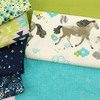 Fabricworm Custom Bundle, Prairie Ponies in FAT QUARTERS 7 Total