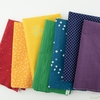 Fabricworm Custom Bundle, Right On Rainbow Precut Assortment 7 Total