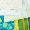 Fabricworm Custom Bundle, Seaside in FAT QUARTERS 10 Total