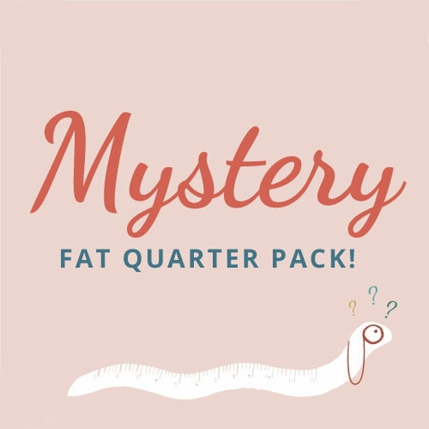 Fabricworm Mystery Fat Quarter Bundle 10 Total