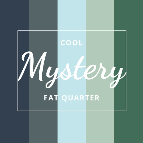 Fabricworm Mystery Precut Fat Quarter in Cool