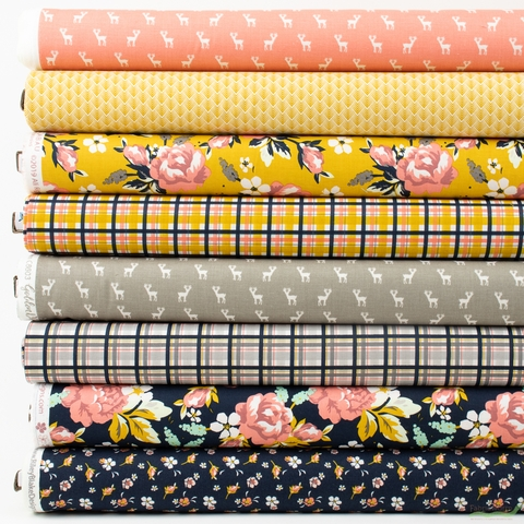 Fancy Pants Designs for Riley Blake, Golden Days in FAT QUARTERS 8 Total