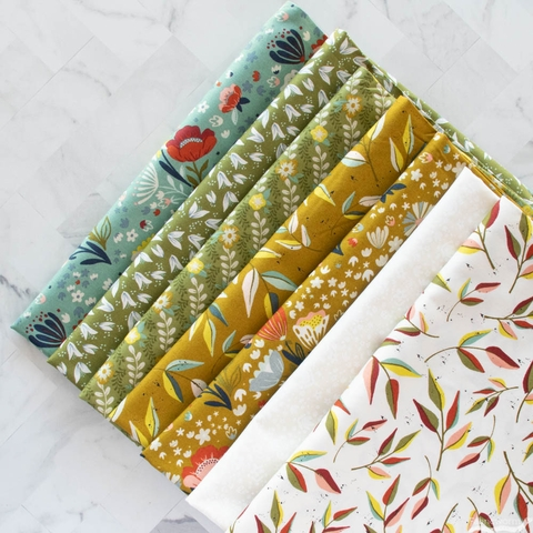 Fancy That Design House for Moda, Songbook, Posie Pocket Deep Waters
