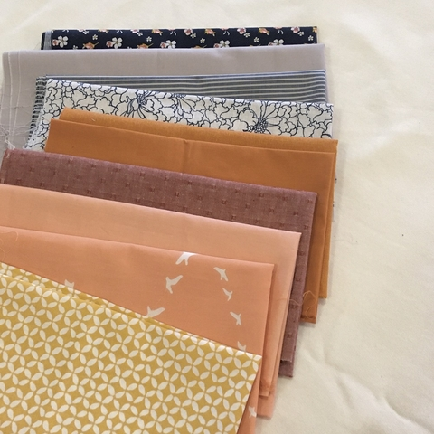 Fat Quarter Destash Bundle - A Bit Peachy - FQD 2