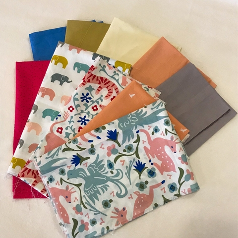 Fat Quarter Destash Bundle - Lion Roar - FQD 21