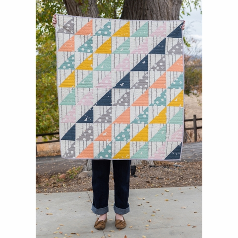 Sewing Tutorial & Free Pattern | Bare Necessities 2.0 Quilt from Birch Fabrics