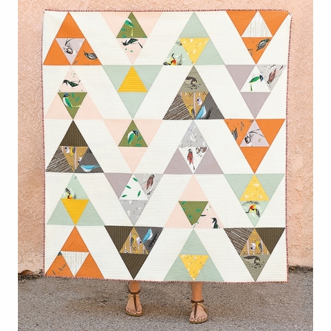 Sewing Tutorial & Free Pattern | Bird Watching Quilt By Suzy Williams
