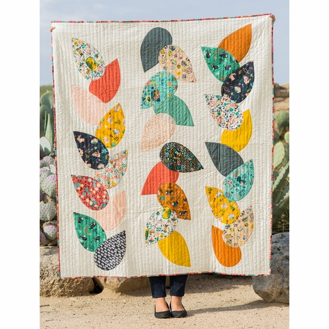 Free Pattern|Hidden Garden Quilt|By Suzy Williams
