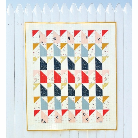 Free Pattern|Little Houses Quilt|By Suzy Williams