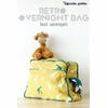 Sewing Tutorial & Free Pattern | Retro Overnight Bag by The Crafty Kitty