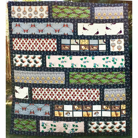 Sewing Tutorial & Free Pattern | Charley Harper Rural Backyard by Brett Lewis & Jonathan Hamill
