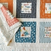 Sewing Tutorial & Free Pattern | Squared Quilt by Suzy Quilts