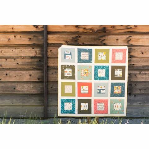 Free Pattern|Squared Quilt|By Suzy Williams