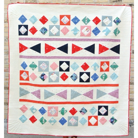 Free Pattern|Through The Looking Glass Quilt|By Suzy Williams