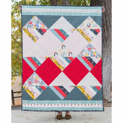 Free Pattern|Waffle Cone Quilt|By Suzy Williams