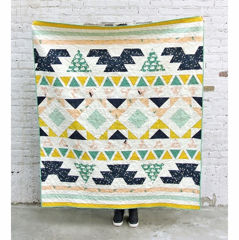 Free Pattern|Warrior Quilt|By Suzy Williams