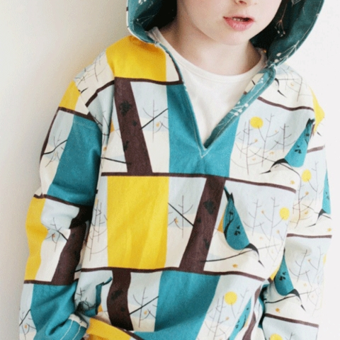Sewing Tutorial & Free Pattern|Rohan Hoodie by The Crafty Kitty