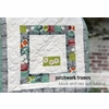 Free Tutorial: Patchwork Frames Quilt Block by Plum and June