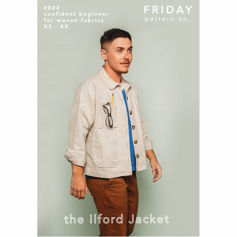 Friday Pattern Co, Sewing Patterns, Ilford Jacket