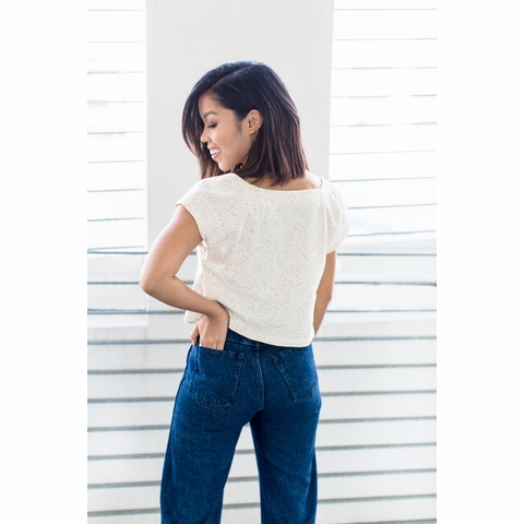 Friday Pattern Company, Sewing Pattern, Square Neck Top
