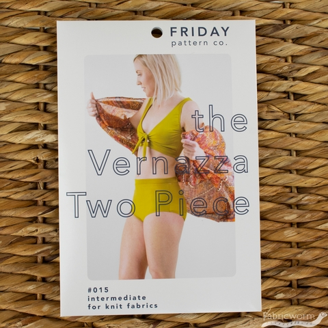 Friday Pattern Company, Sewing Pattern, Vernazza Two Piece