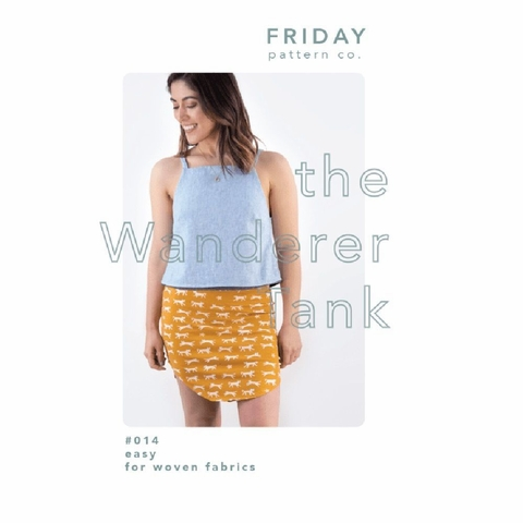 Friday Pattern Company, Sewing Pattern, Wanderer Tank